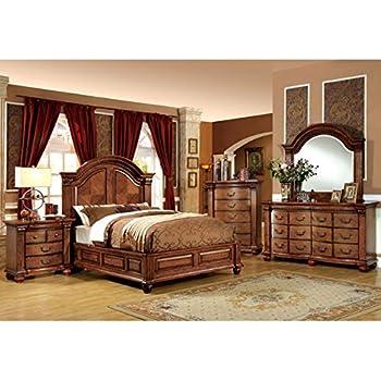 Amazon Com 247shopathome Idf 7738q 6pc Bedroom Furniture