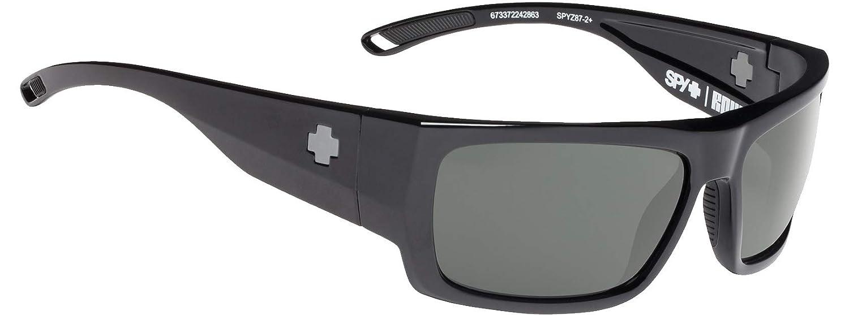 da00f38cb8 Amazon.com  Spy Rover Sunglasses Men s Black Happy Gray Green  Clothing