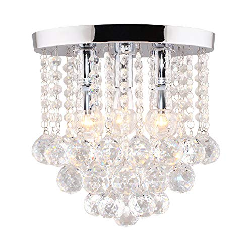 (Surpars House Crystal Chandelier,3 Lights,11