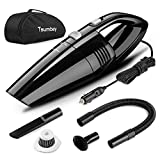 Car Vacuum, Tsumbay Handheld Vacuum 5000PA Strong Suction 5M Long Corded Wet/Dry Portable