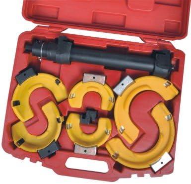 Interchagneable Strut Springs Compressor Kit Coil Set Jaws Case Plastic Project