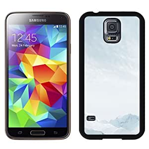 Easy use Cell Phone Case Design with iOS 8 Snow Mountains Parallax Default Galaxy S5 Wallpaper
