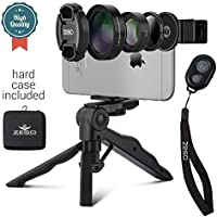 Camera Lens Kit by Zeso | Professional CPL, Macro & Wide...