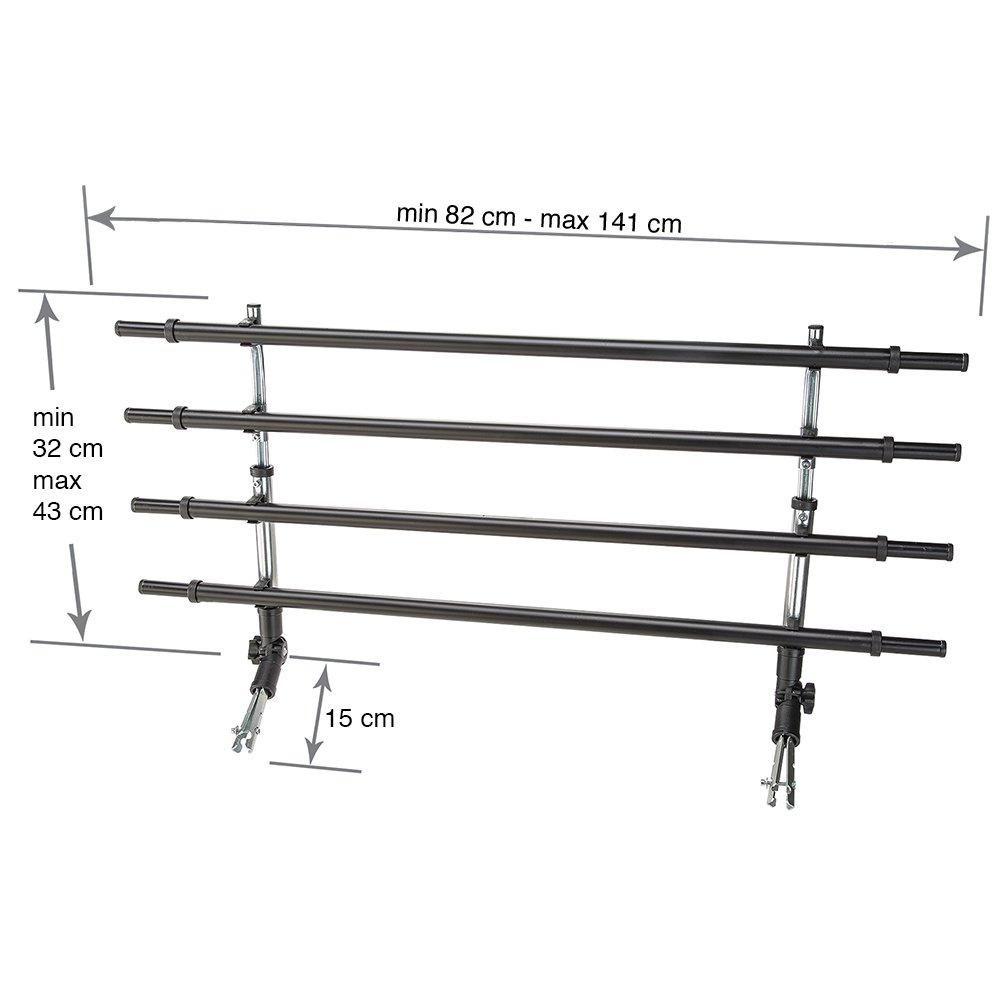 Ferplast Grille Pare Chien Min 82 X 15 X H 32 cm//Max 141 X 15 X H 43 cm