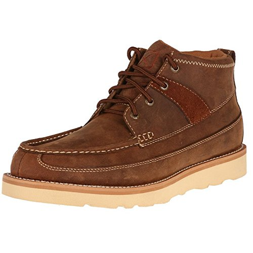 Twisted X Boots Mens Wedge Casuals 11 M Oiled Saddle
