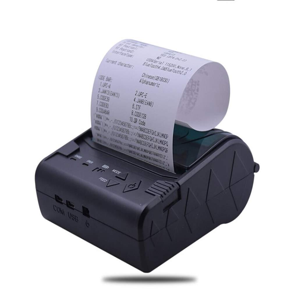 WXS Impresora Térmica Impresora De Tickets Bluetooth Inalámbrico ...