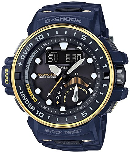 CASIO watch G-SHOCK Gulf Master Master in NAVY BLUE world six stations corresponding Solar radio GWN-Q1000NV-2AJF Men's
