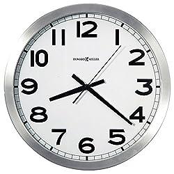 Howard Miller Flat Round Wall Clock, 15-3/4 (625450)