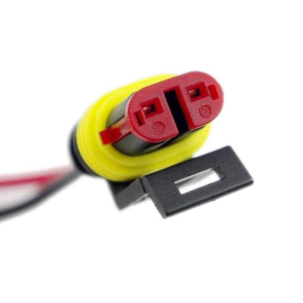 E Support/™ 5 PC 2 Pin v/ía coche autom/ático enchufe conector el/éctrico kit de toma de calibre AWG de alambre a prueba de agua