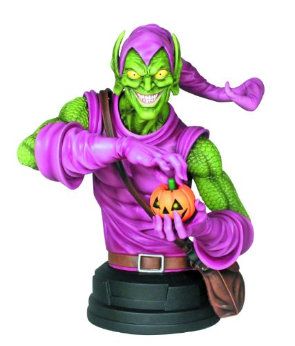 green-goblin-mini-bust-gentle-giant-studios-spider-man-marvel-mini-bust-new