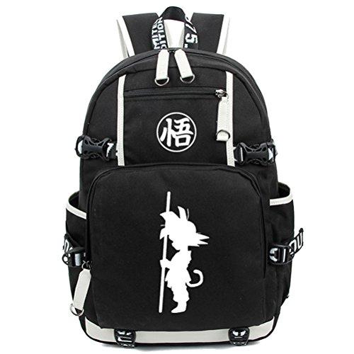 YOYOSHome Anime Dragon Ball Z Cosplay Bookbag Messenger Bag Backpack School Bag -