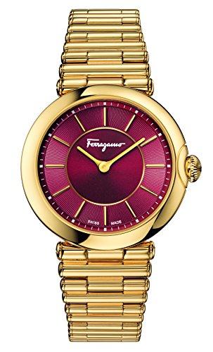 Salvatore Ferragamo Women's FIN060015 Style Analog Display Quartz Gold Watch by Salvatore Ferragamo