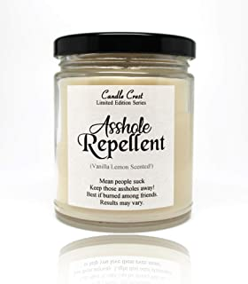 product image for Asshole Repellent 9oz Scented Soy Candle