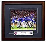 The Chicago Cubs - 2016 World Series Champions! Framed 8x10 Photo Celebration On The Mound!