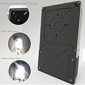 Cinoton LED Wall Pack Light,26W 3000lm (Dusk-to-dawn Photocell,Waterproof IP65), 100-277Vac,150-250W MH/HPS Replacement,Outdoor Security Lighting (5000K)