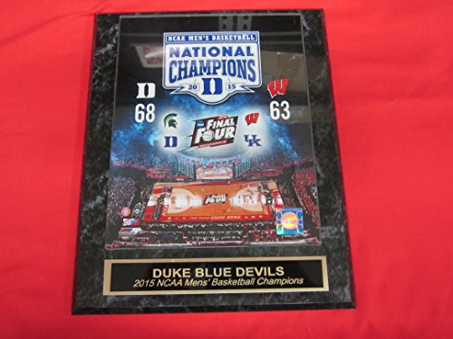 2015 Duke NCAA Basketball Champions Collector Plaque w/8x10 Photo!