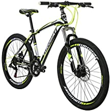 EUROBIKE EURX1 Mountain Bikes 21 Speed MTB Bicycle 26 Inch Wheels Suspension Fork MTB Bicycle