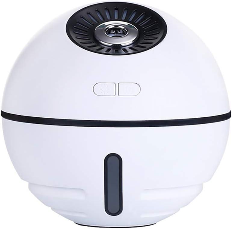 XLKP888 Mini USB Space Ball Humidifier Misting Fan, 4 in 1