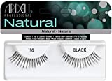 Ardell Fashion Natural Lashes Strip Lash, Black [116] 1 ea (Pack of 8)