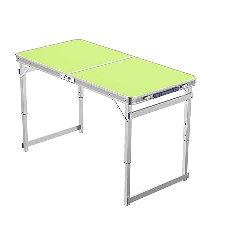 mesa plegable ZZHF Rectangular, Soporte De Aluminio para Mesa ...