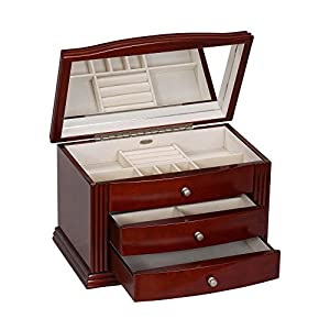 Mele & Co Georgia Wooden Jewelry Box