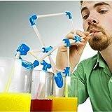 [Free Shipping] Recesky DIY Straws Creative Crazy Straws Puzzle Toy For Fun Party // Juguete del rompecabezas pajas locura creativa pajas bricolaje Recesky para la f