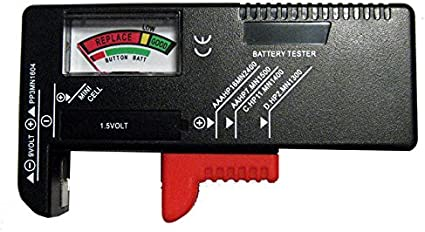 New Universal Battery Tester Load Checker AA AAA 9V C D Power Portable Load New