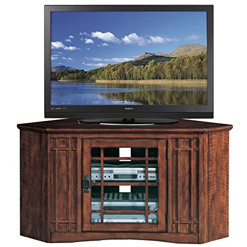 - Leick 82285 Riley Holliday TV Stand, 46 inches, Mission Oak
