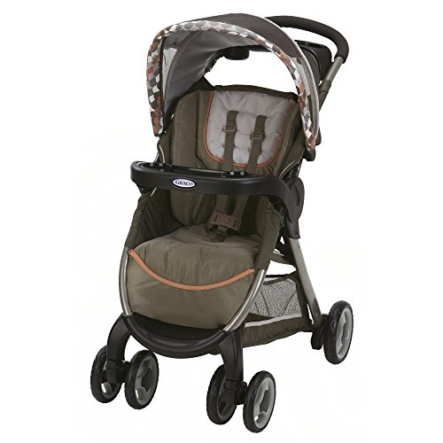 Graco Fastaction Fold Click Connect Stroller, Harlow