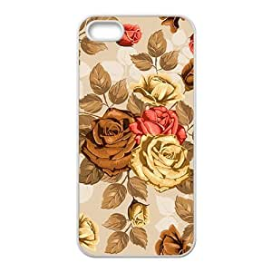 The Love Flowes Hight Quality Plastic Case for Iphone 5s by mcsharks