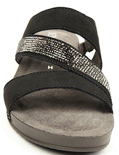 GRANIT 2257314-05 - Zuecos de Piel para mujer Gris gris Gris - gris