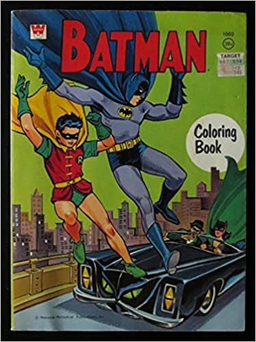 Batman Coloring Book 1967: Whitman staff: Amazon.com: Books