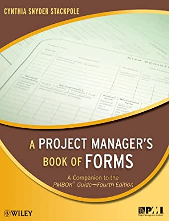 a project manager's book of forms free download