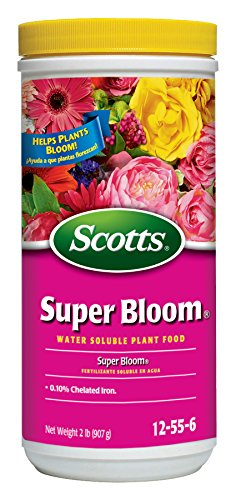 Scotts 110500 Super Bloom Water Soluble Plant Food, 2-Pound, 2 lb, Brown/A ()