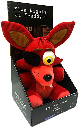 """Five Nights At Freddys - Foxy Plush - Boxed - Officially Licensed - 25cm 10"""""""