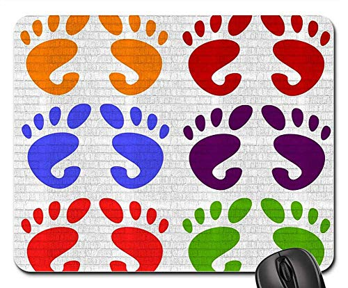 Wallpaper Weave Linen - Mouse Pad - Hands Feet Wallpaper Body Background Fabric