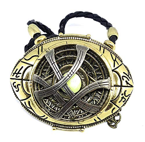 BlingSoul New Doctor Strange Costume Cosplay Jewelry - Eye of Agamotto Necklace (Large) by BlingSoul (Image #1)