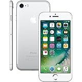 iPhone 7 Apple 32GB 4G Tela Retina 4.7  A10 iOS 10 Câmera iSight 12 MP Prata MN8Y2BZ/A