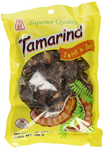 Thai Tamarind Sweet & Sour Candy with Whole Pod (All Natural 94% Tamarind)