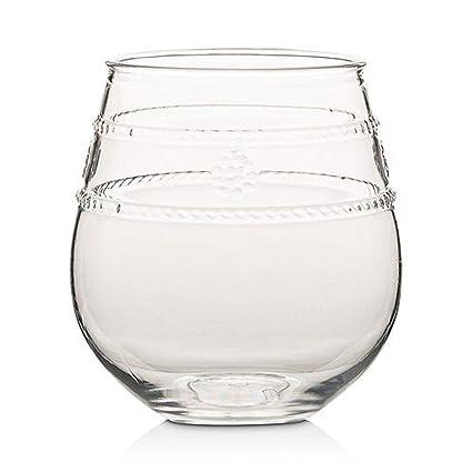 e556aa57116 Amazon.com: Juliska Isabella Acrylic Stemless Wine Glass: Home & Kitchen