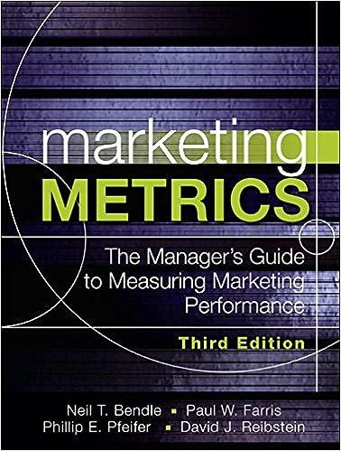 Marketing Metrics: The Managers Guide to Measuring Marketing Performance: Amazon.es: Paul Farris, Neil Bendle, Phillip Pfeifer: Libros en idiomas ...
