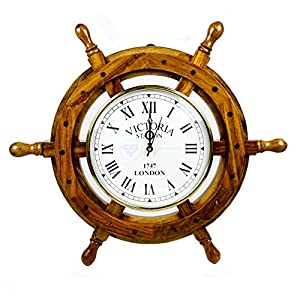 51cfPNMlSRL._SS300_ Best Ship Wheel Clocks
