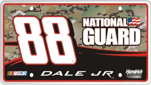 88 National Guard Car - Sponsor Series #88 Dale Earnhardt Jr. National Guard (B) License Plate