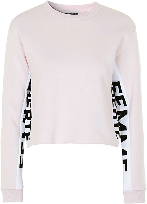 watch hot new products best online Topshop Details about Femme Liberte Pink Super Soft Sweatshirt ...
