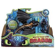 Entrenando A Tu Dragon Dragón y Vikingo HIPO y Chimuelo