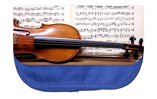 Music Violin and Notes Cosmetic Pouch (Ode To Joy Music Notes For Violin)