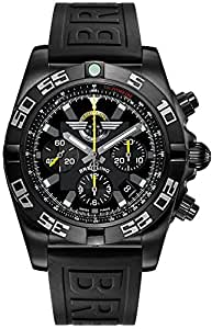Breitling Chronomat 44 Blacksteel Mens Watch MB01109L/BD48-152S