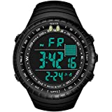 Mens Digital Sports Watch, Military Outdoor LED...