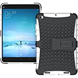 Heartly Flip Kick Stand Spider Hard Dual Rugged Armor Hybrid Bumper Back Case Cover For Xiaomi Mi Pad 2 / Mi Pad 3 - Best White