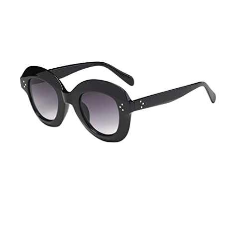 destul de ieftin 100% autentic cumpăra bine MChoice_glasses Baby Boy's Man Vintage Cat Eye Big Rame Sunglasses Retro  Eyewear Fashion Size: Full Size F: Amazon.in: Baby